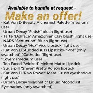 NAME YOUR PRICE- Custom Makeup Lots